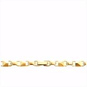 Michael Kors Zilveren Goudkleurige Mercer Link Ketting MKC1018AA710