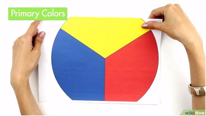 Bruin maken van primaire kleuren wikiHow