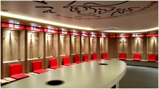 Ajax Kabine Picture of Amsterdam ArenA Stadiontours Amsterdam