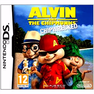 Amazon Alvin & The Chipmunks Chip Wrecked DS UK IMPORT