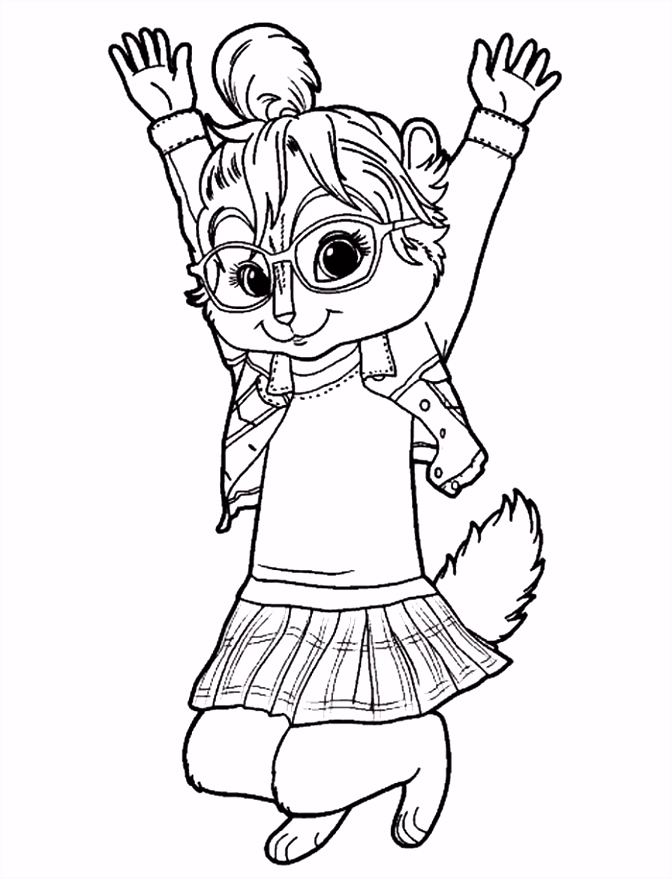 Fantastic theodore Chipmunk Coloring Pages Contemporary