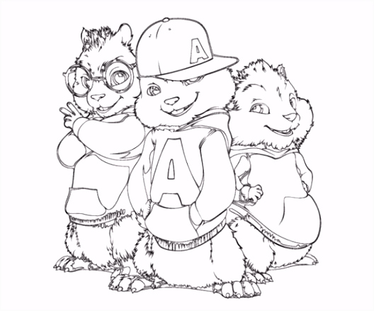 Alvin And The Chipmunks Clipart 36
