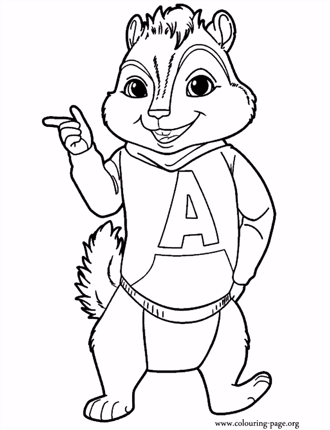 Alvin And The Chipmunks Drawings Many Interesting Cliparts