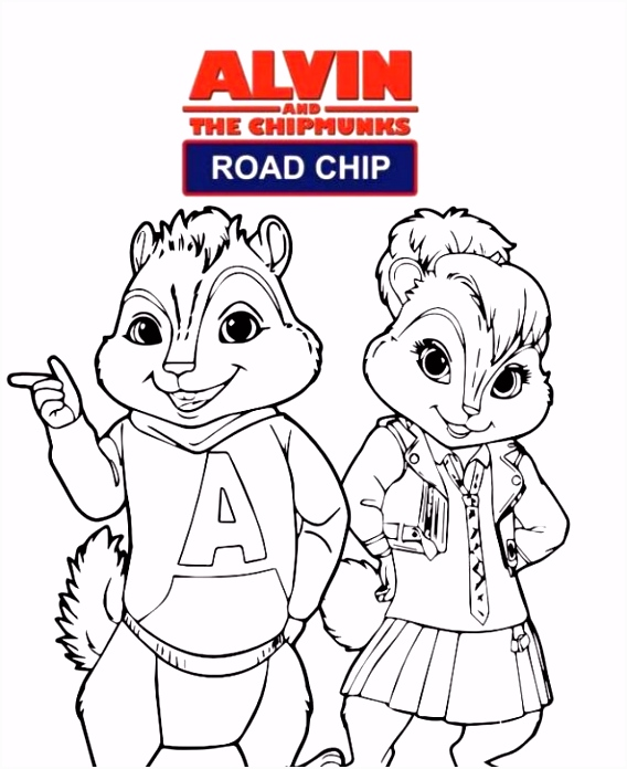 Alvin En De Chipmunks Road Trip Kleurplaten Kleurplaten En Zo Kleurplaat Van Alvin En De Chipmunks Road Chip O2eq17nud7 A4yvu4onuu