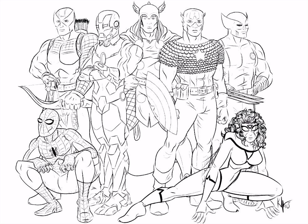Avengers Kleurplaat The Avengers Kleurplaat Avengers Lego – quadeofo