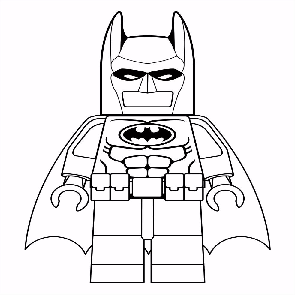 Lego Batman Kleurplaten Beste Van 10 Kleurplaten Van Lego