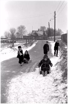 67 beste afbeeldingen van Winter in Frysl¢n Historische foto s