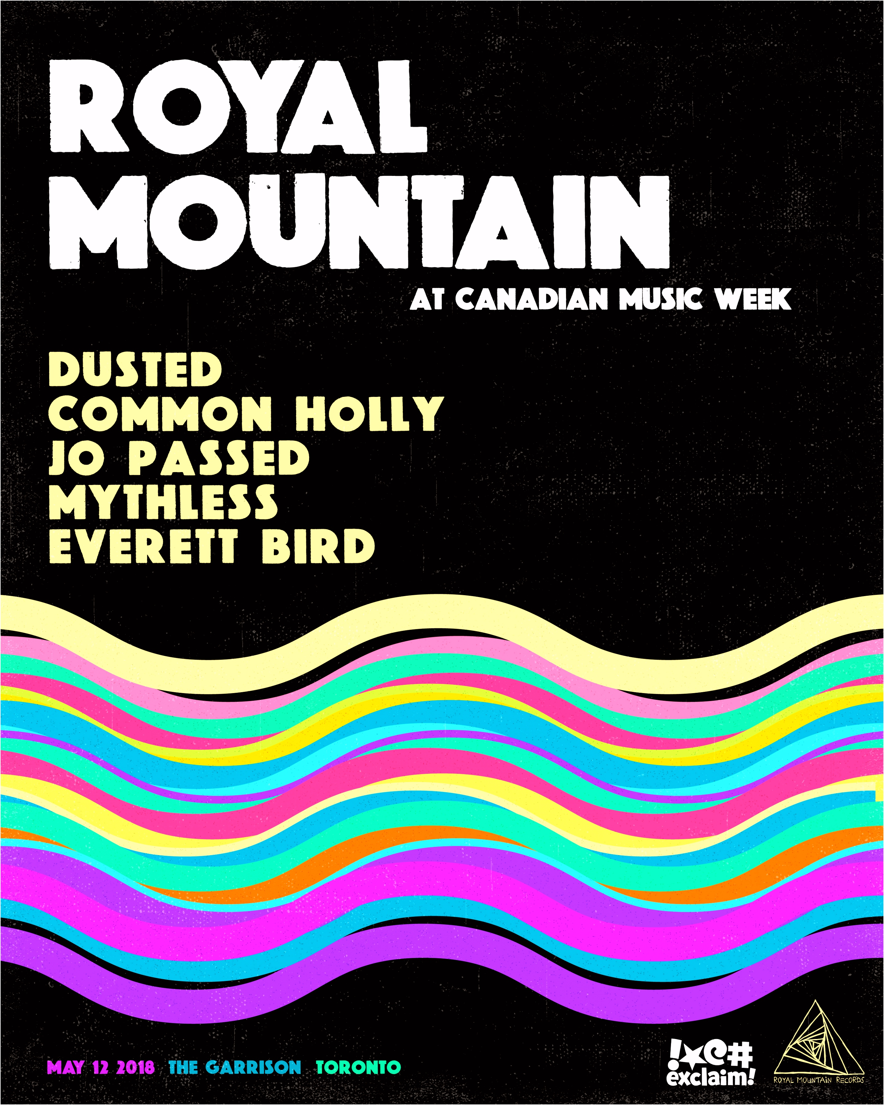 Schedule – 2019 Canadian Music Week – MAY 6 12 2019