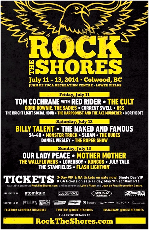 The History of Rock The Shores