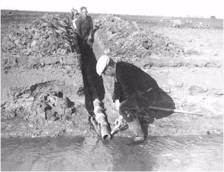 Museum over de pioners van de Noordoostpolder en de drooglegging van