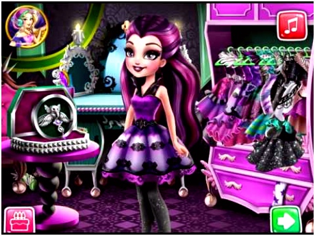 Dark Queen Closet Disney Movie Cartoon Game for Kids