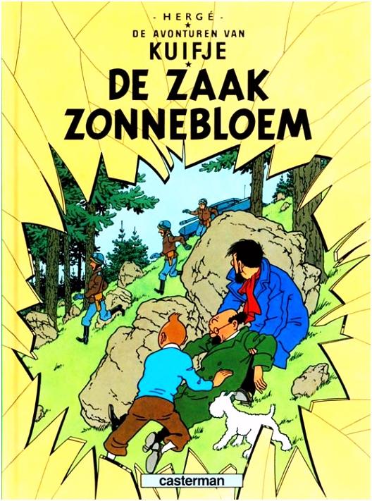 bol De Zaak Zonnebloem Hergé