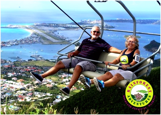 Soualiga Sky Explorer Picture of Rainforest Adventures St Maarten