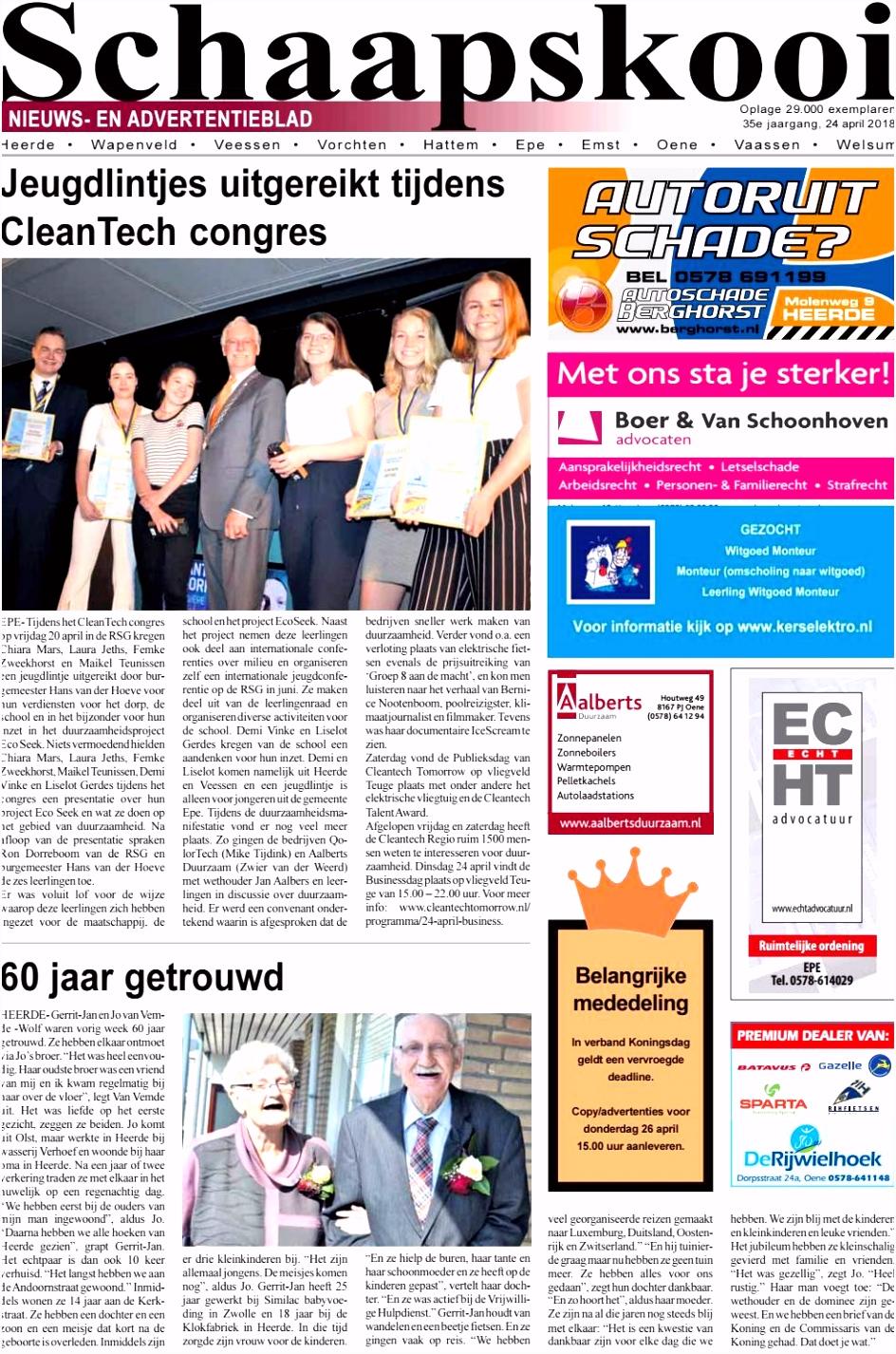 Schaapskooi week 17 2018 by BrugMedia B V issuu