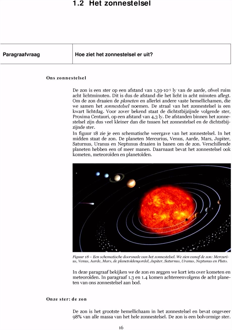Zonnestelsel en Heelal PDF