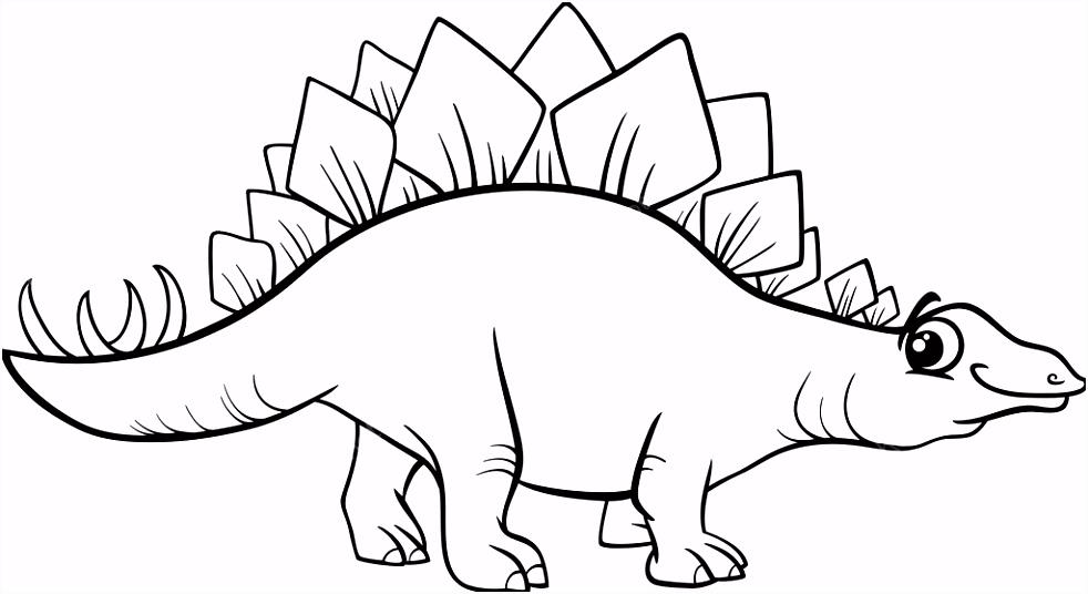 Dinosaur Kleurplaten Stegosaurus Dinosaur Kleurplaat D3kf95xss9 Rmpom5ieo6