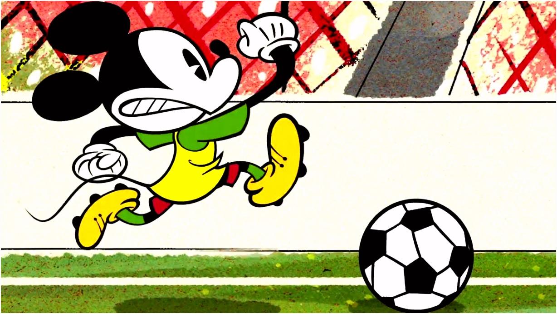 O Futebol Classico A Mickey Mouse Cartoon