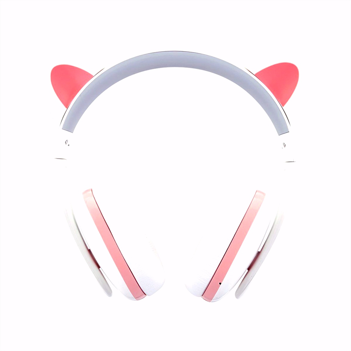Censi Bluetooth Cat Ear Headphones Over Ear Noise Canceling Wireless