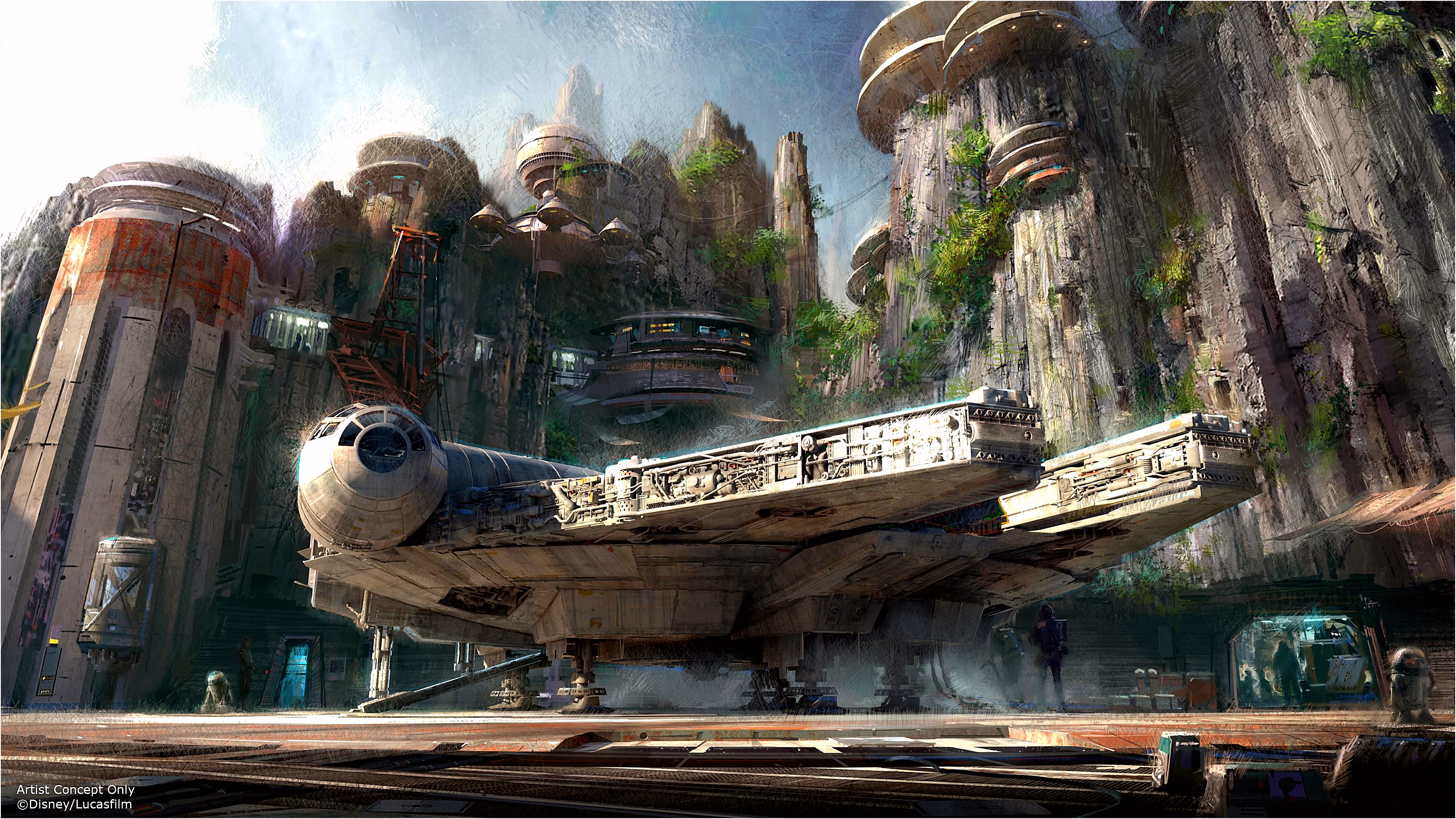Star Wars Lands Blast f at Disneyland and Disney World