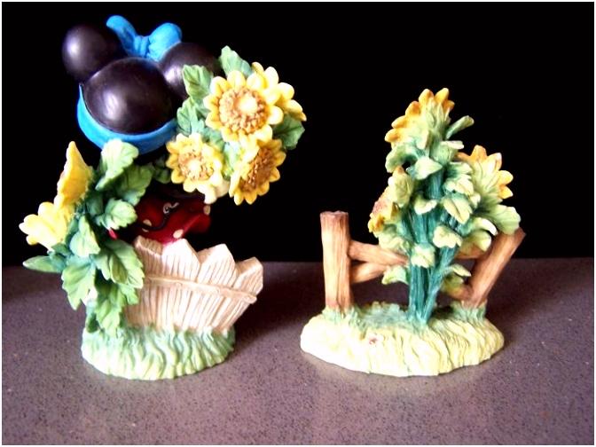 Disney Beeldjes uit de Enesco serie In The Good Od Summertime