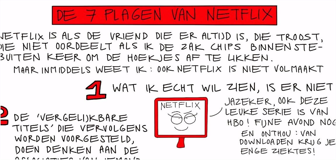 De zeven plagen van Netflix NRC