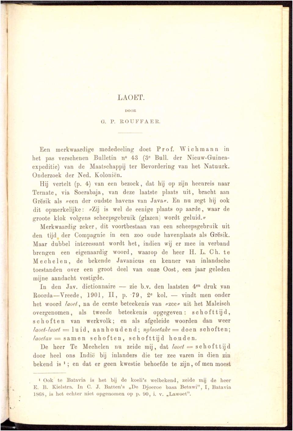 Delpher Tijdschriften Bijdragen tot de taal land en volkenkunde