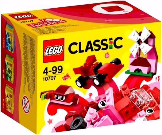 bol LEGO Classic Rode Creatieve Doos LEGO
