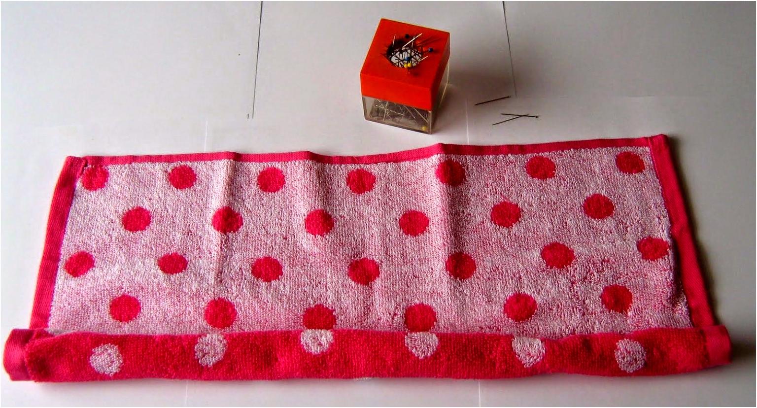 handwerken TutorialOlifant handdoek vouwen