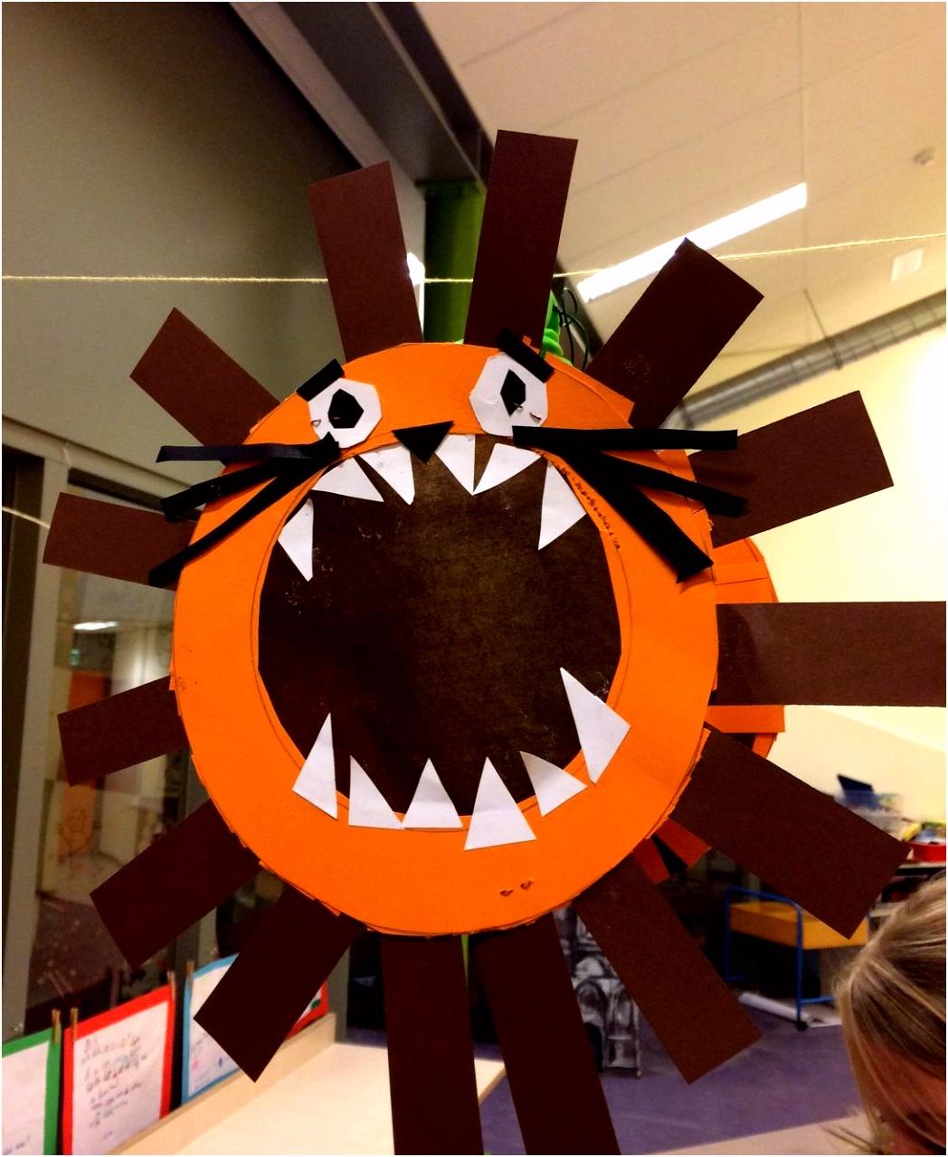 Lampion leeuw halloween lampionnen Pinterest