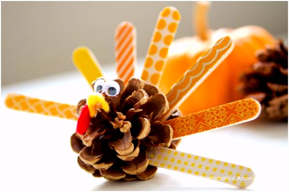 The Cutest Thanksgiving Kid Crafts in 2018