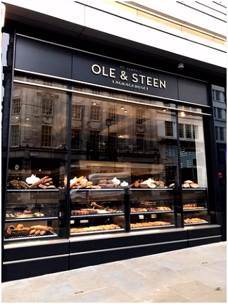 Handmade breads pastries & cakes Picture of Ole & Steen London