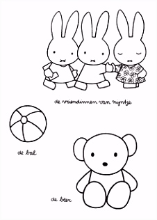 13 best Miffy Coloring Pages images on Pinterest