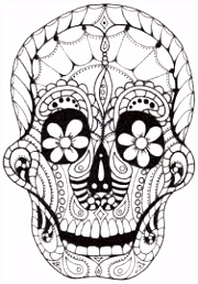 60 best Skull Art images on Pinterest