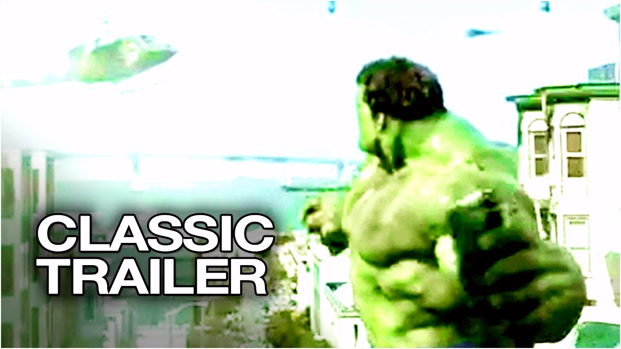 Hulk 2003 ficial Trailer 1 Erica Bana Movie HD
