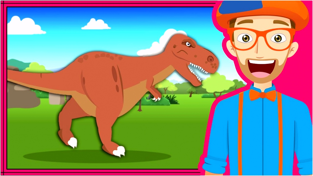 The Dinosaur Song by Blippi
