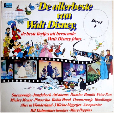 Various De Allerbeste Van Walt Disney Deel 1 Vinyl LP at Discogs