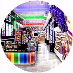 NYC Union Square Candy Store Candy Shop