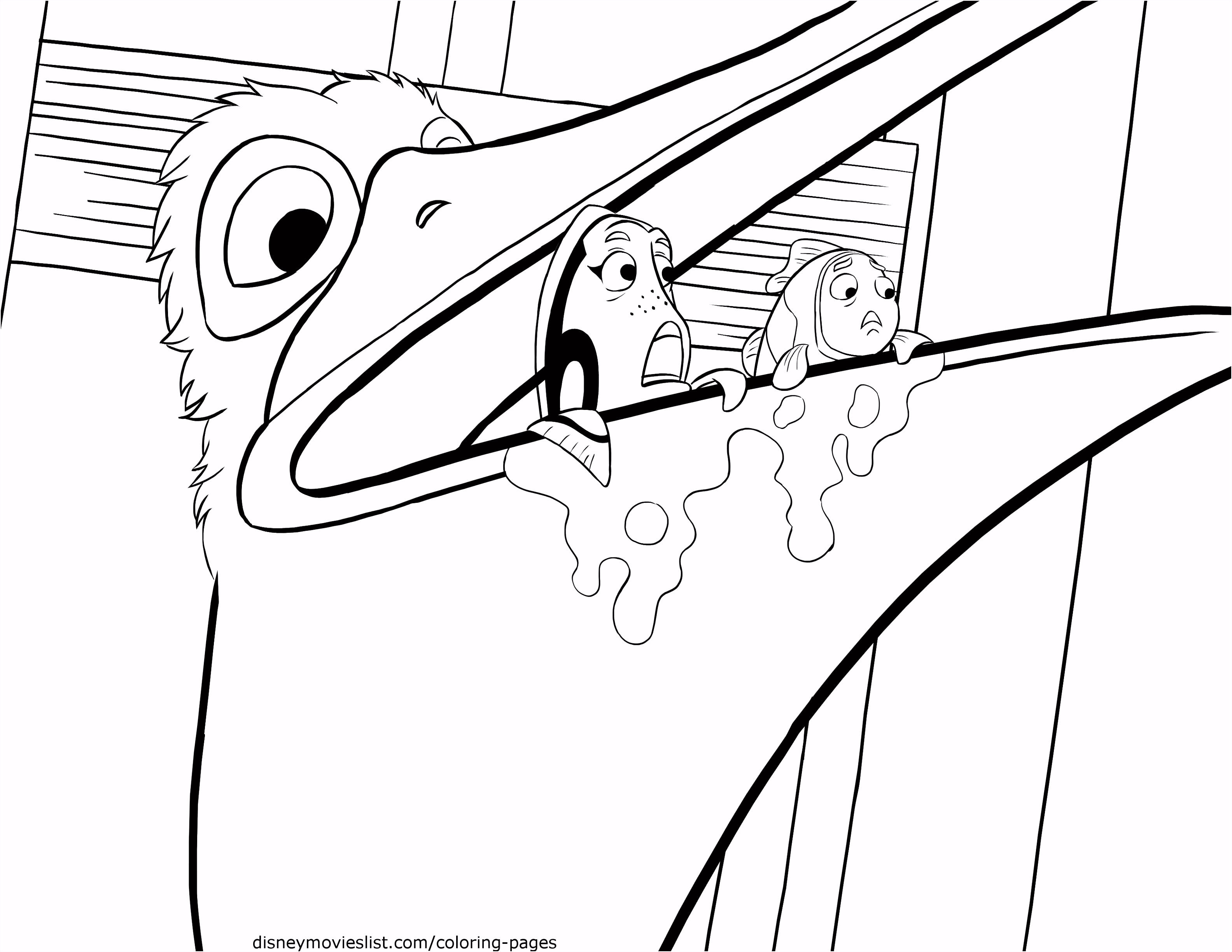 60 Amusing Finding Nemo Coloring Pages Dannerchonoles