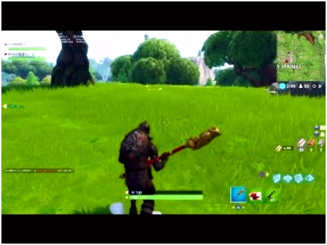 FORTNITE BATTLE ROYALE NITE OWL PICKAXE IN GAME