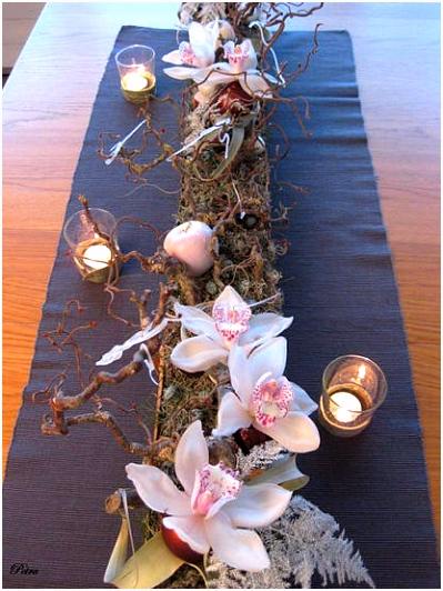 Tafeldecoratie voor Kerst en Nieuwjaar tafeldecoratie maken met