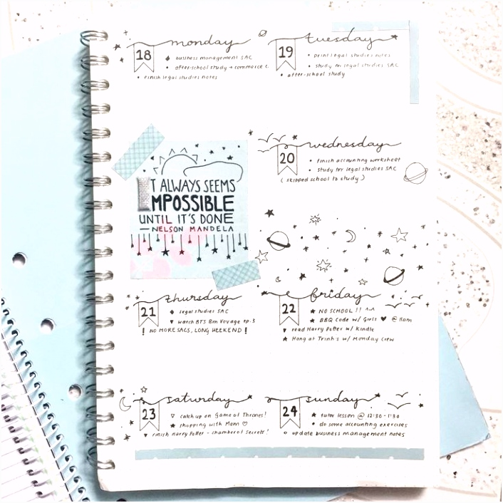 55 best Bullet Journals pages to bring in images on Pinterest