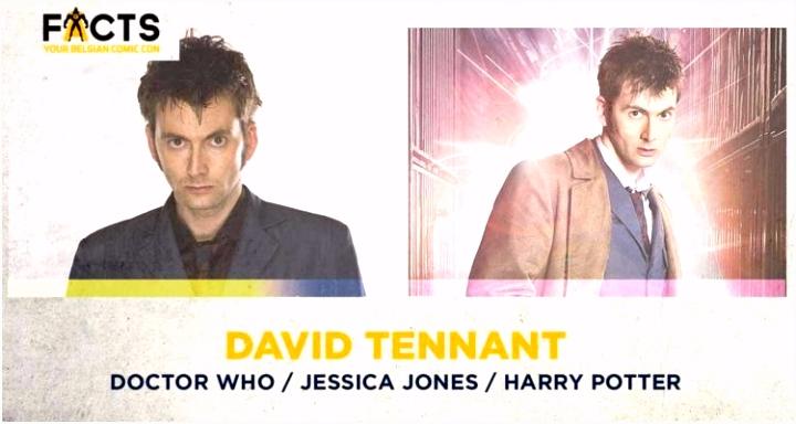 Superster David Tennant parkeert zijn TARDIS op FACTS Fall 2018 FACTS