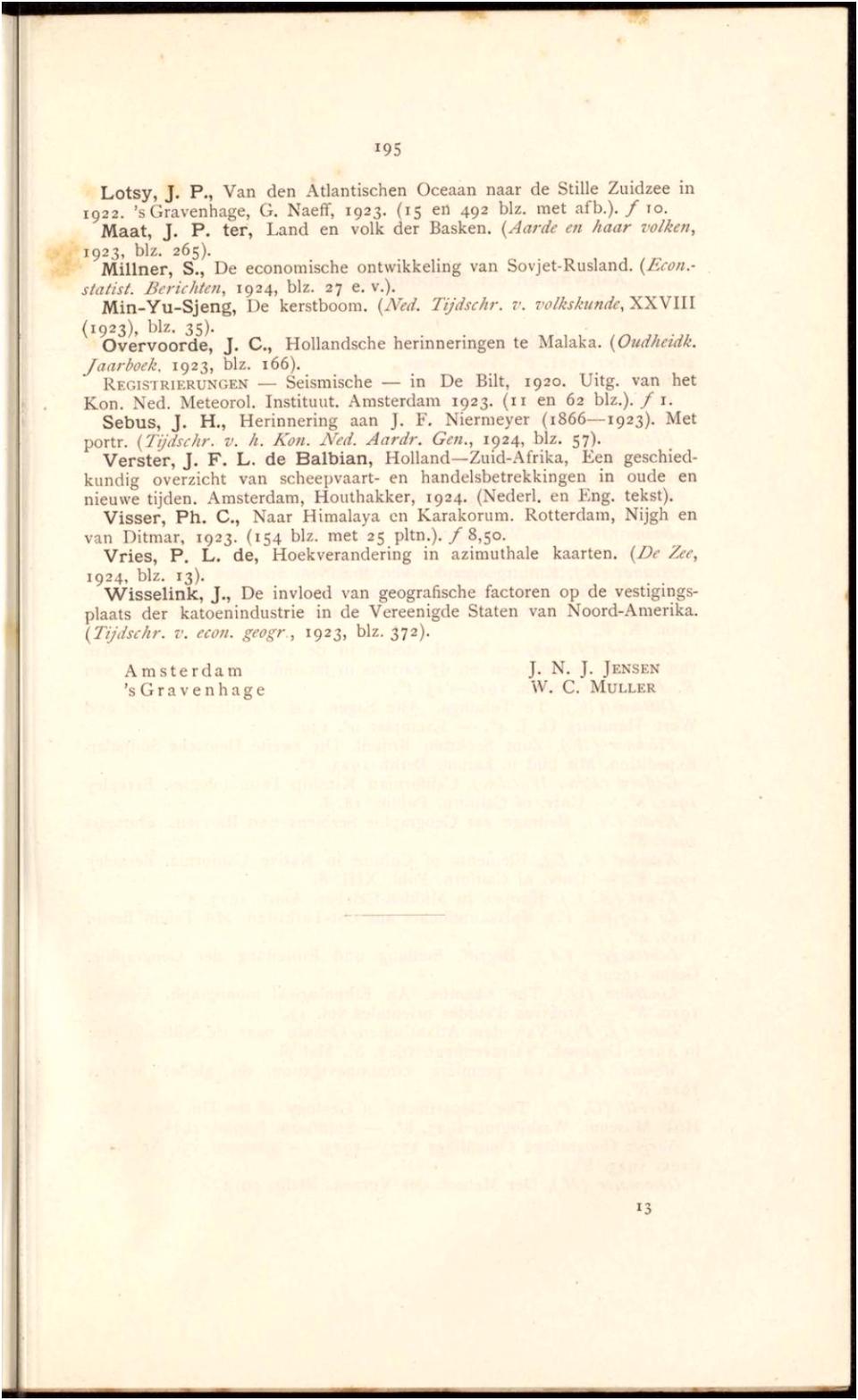 Delpher Tijdschriften Tijdschrift van het Aardrijkskundig