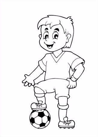 Kleurplaat voetbal 28 leukste voetbal kleurplaten