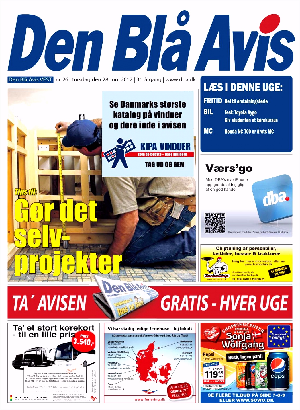 Den Bl¥ Avis VEST 26 2012 by Grafik DBA issuu