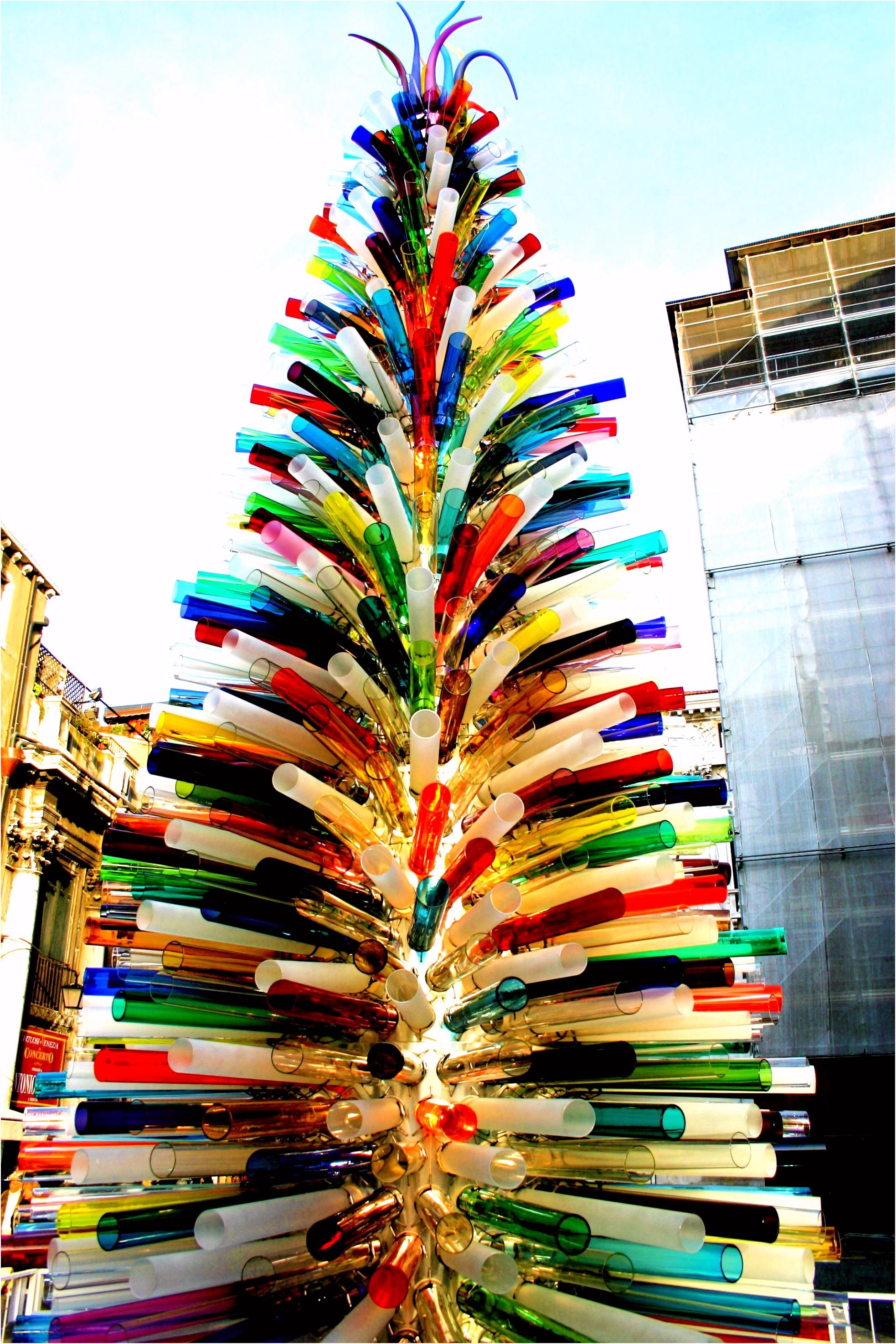 The Murano Glass Christmas Tree Venice Italy Glass