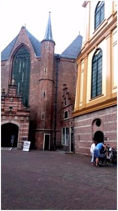 Westerkerk Enkhuizen 1470 met houten toren uit 1533 Foto van