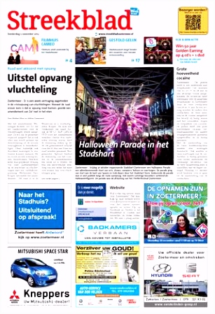 Streekblad week45 by Wegener issuu