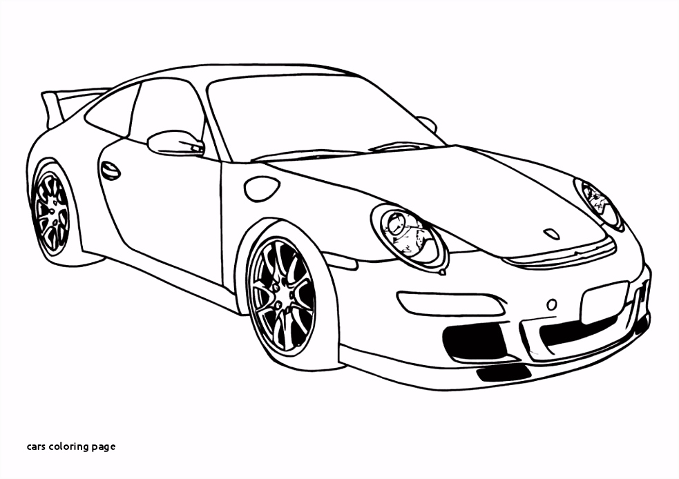 Cars Coloring Page Old Car Coloring Pages Fresh Kleurplaat Cars 0d