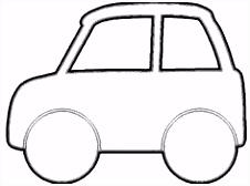 Afbeeldingsresultaat voor kleurplaat auto peuter vaderdag